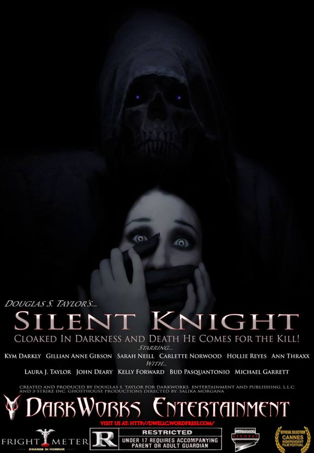 Silent Knight Movie Mock-up Poster